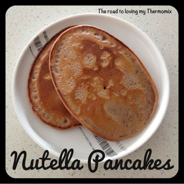 Nutella Pancakes – The Road to Loving My Thermo Mixer