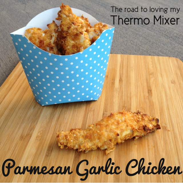 Parmesan Garlic Chicken Strips – The Road to Loving My Thermo Mixer
