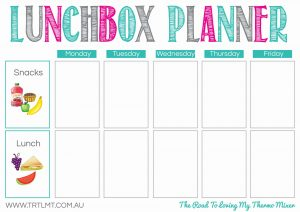 Lunchbox Planner FB