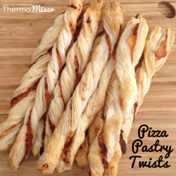 Pizza Pastry Twists