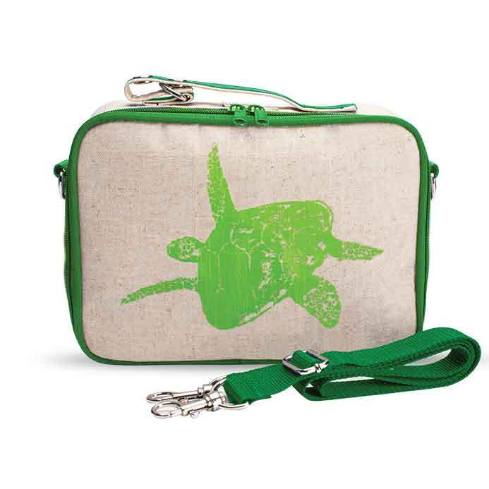 LIME-GREEN-turtle-lunchbox