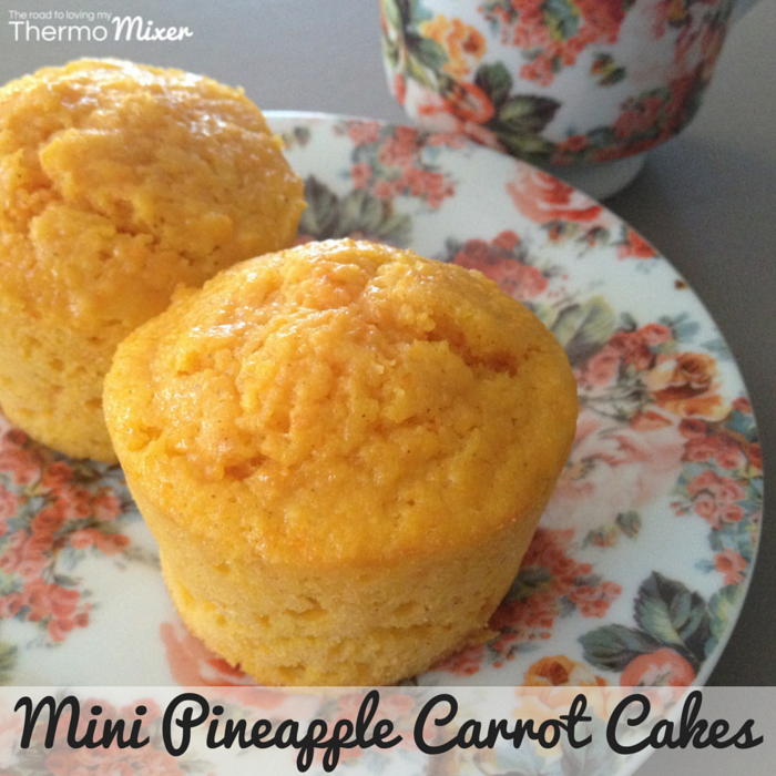 Pineapple Carrot Muffins | The Road to Loving My Thermo Mixer