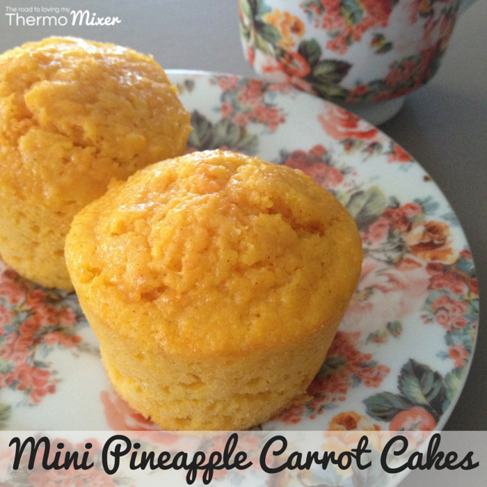 Pineapple Carrot Muffins – The Road to Loving My Thermo Mixer