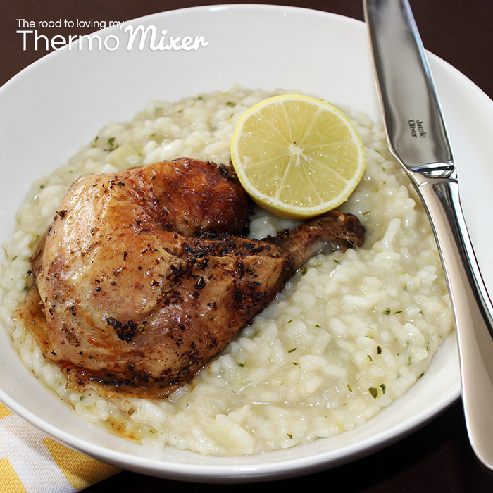 ... Chicken with Zucchini Risotto – The Road to Loving My Thermo Mixer