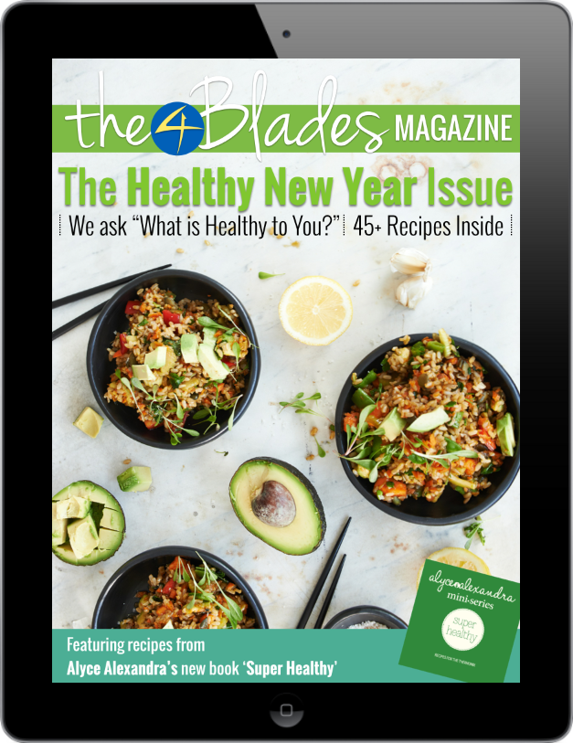 003 - Healthy New Year in iPad Frame