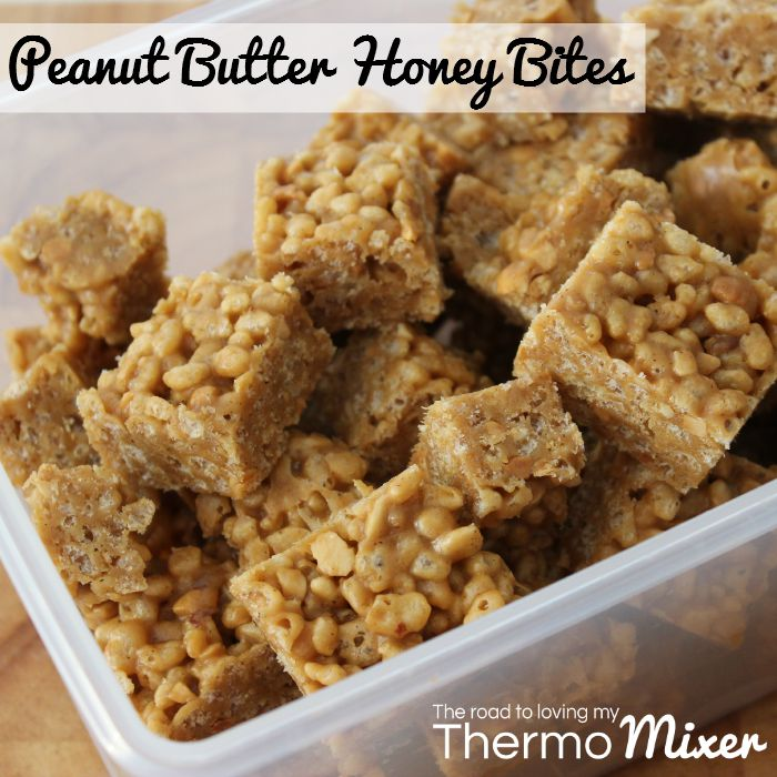 Peanut Butter Honey Bites | The Road to Loving My Thermo Mixer