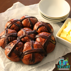 thermomix chocolate hot cross buns