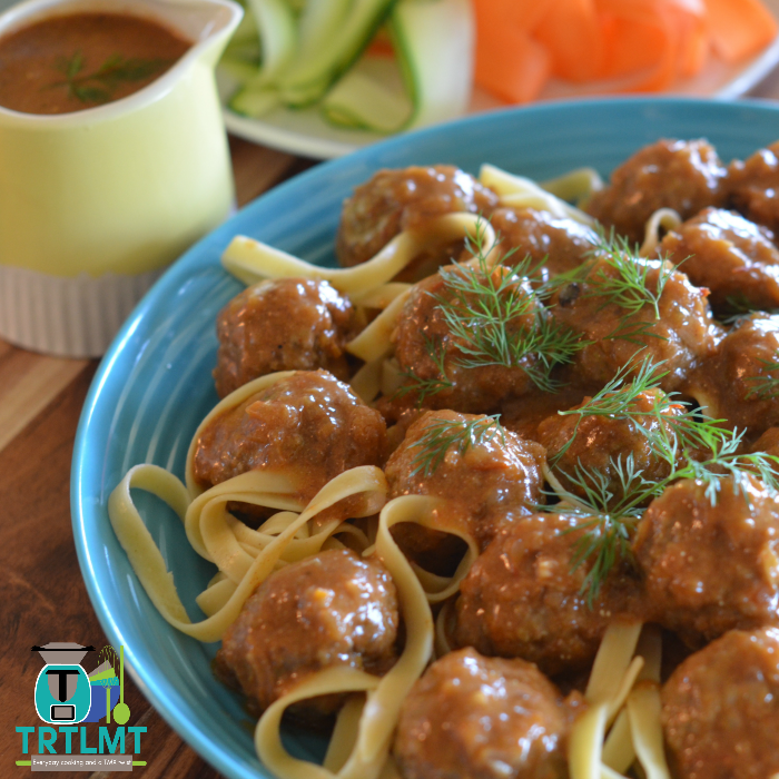 Stroganoff Meatballs – The Road to Loving My Thermo Mixer