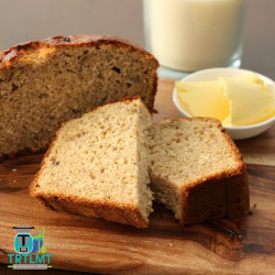 wholemeal banana bread