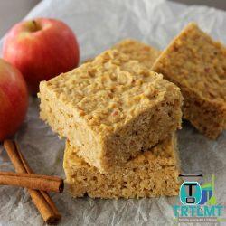 apple oat slice