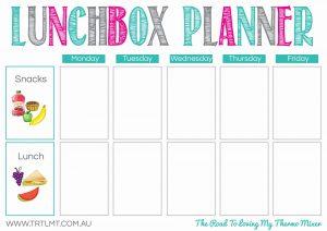Lunchbox Planner FB