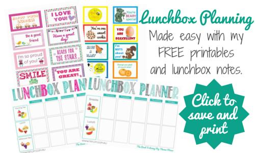 Lunchbox Planning